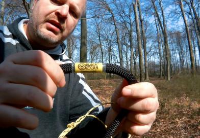 Erstes Klettern mit dem Blacksafe Hardcore 10,5mm